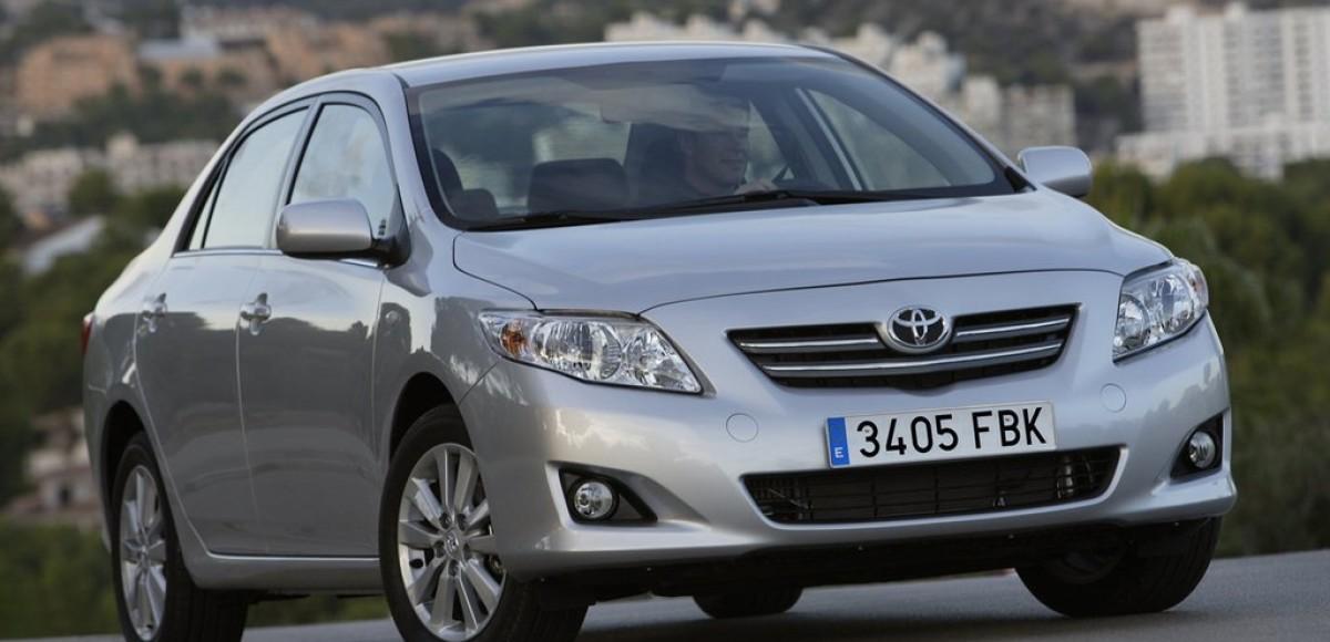 Воистину народная Toyota Corolla