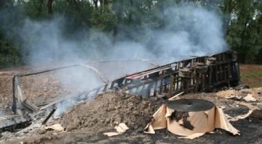 Крупная авария в Москве: грузовик столкнулся с рейсовым автобусом