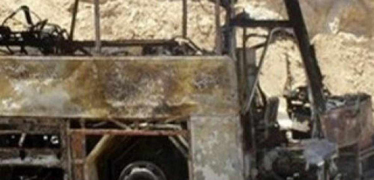 В Израиле упал в пропасть автобус с российскими туристами