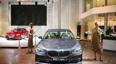 Экспозиция BMW Group на ММАС-2012
