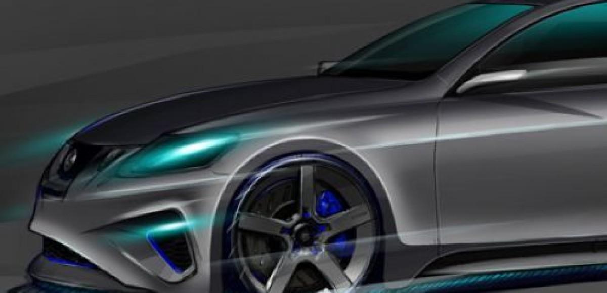 Lexus покажет на SEMA тюнинговый седан GS 460