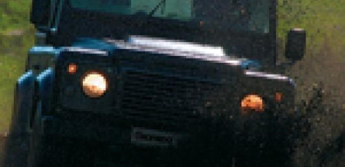 Land Rover Defender. Это жесть!