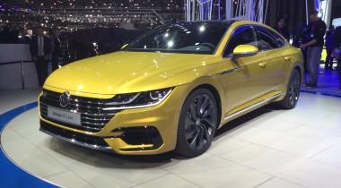 Volkswagen Arteon: в Женеве показали преемника Passat CC