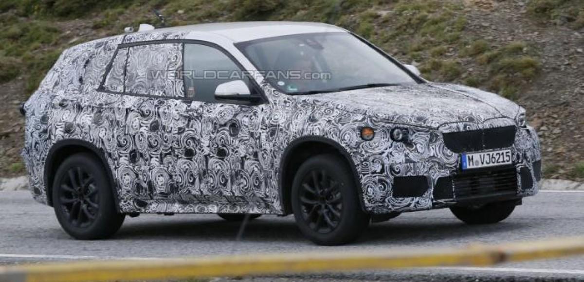 BMW X1 станет переднеприводным