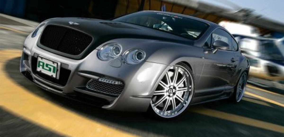 Японский болид Bentley