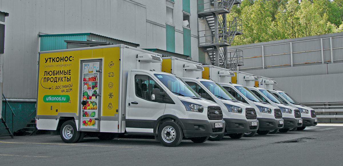 «Прикинули затраты и выбрали Ford Transit»: почему онлайн-гипермаркет «Утконос» доставляет заказы только на «Фордах»