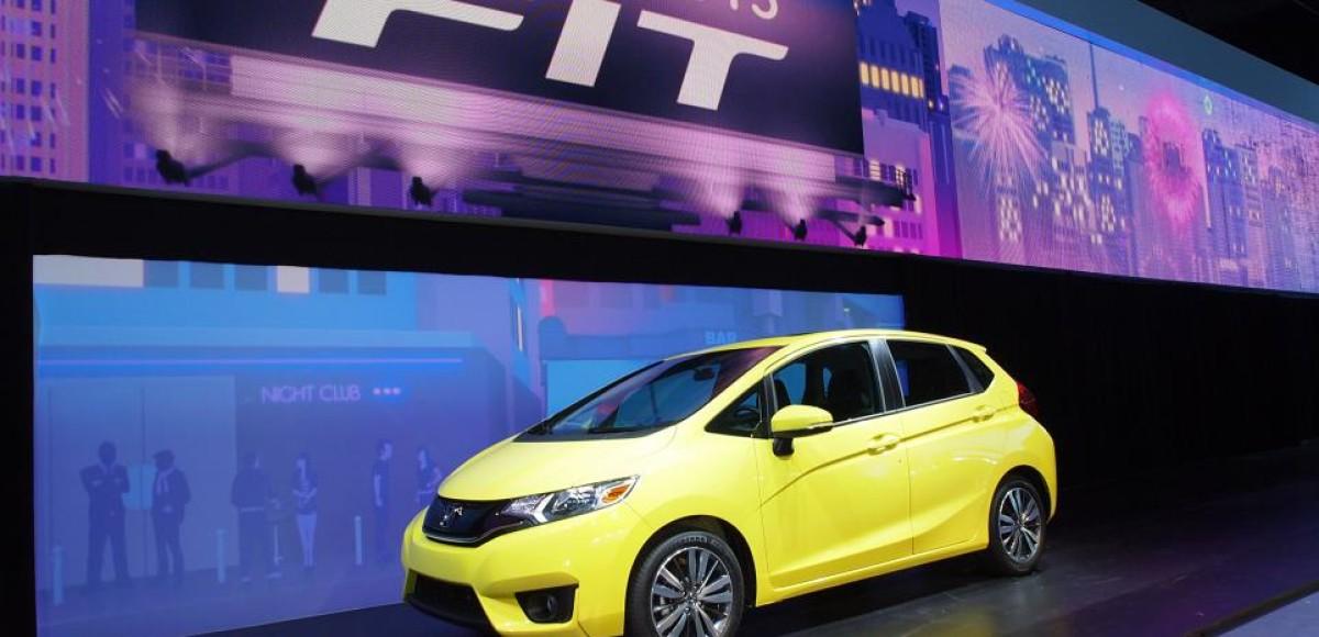 Новое поколение Honda Fit представили на автосалоне в Детройте