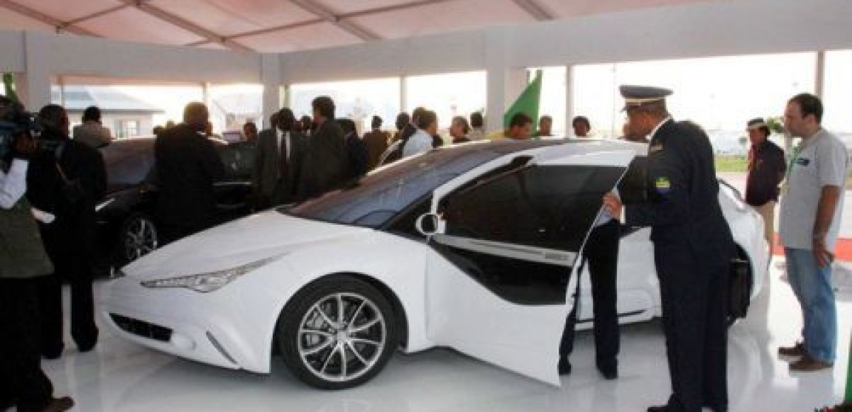 В Ливии разработали самый безопасный в мире автомобиль