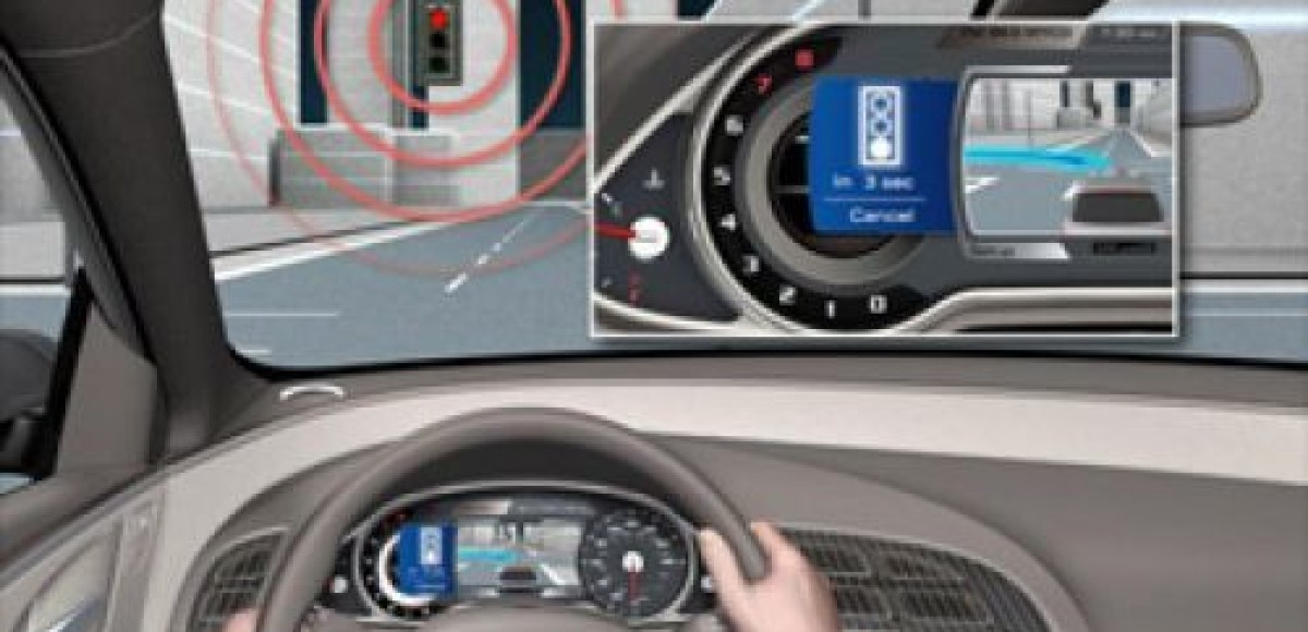 Новинка от Audi подружит водителей со светофорами