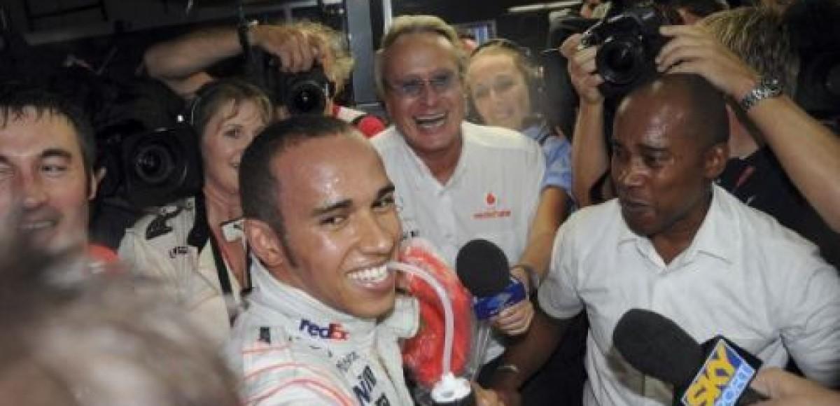 Гран-При Сингапура. Результаты гонки