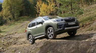 Подробный разбор: системы безопасности нового Subaru Forester