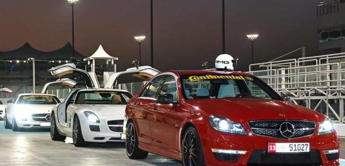 Шины Continental для тренинга AMG  Performance Tour