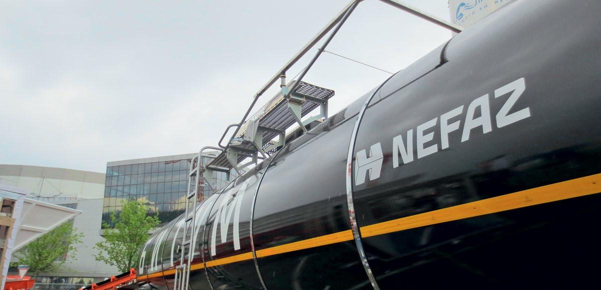 Вместимость оптимальная: новая цистерна «НефАЗ»
