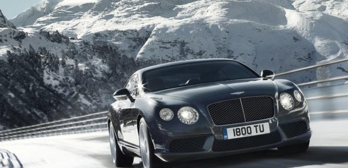 Две модели Bentley Continental V8 будут представлены  на автосалоне в Детройте
