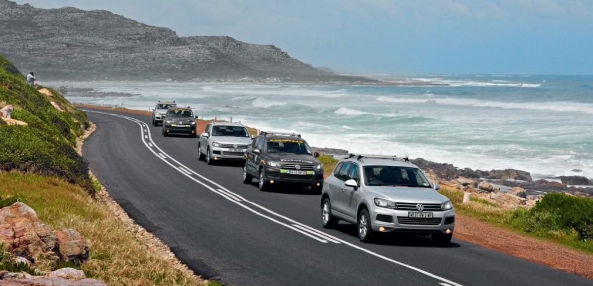 На Volkswagen Touareg по Южной Африке. Правый руль и бабуины