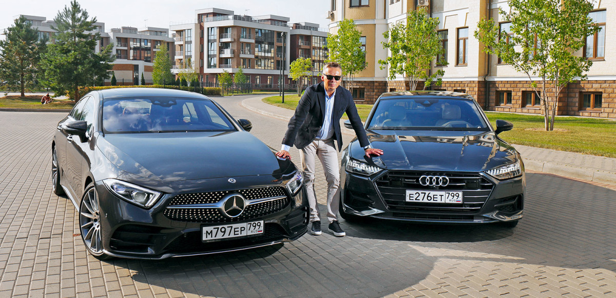 Audi A7 Sportback против Mercedes-Benz CLS. «Звездные войны»