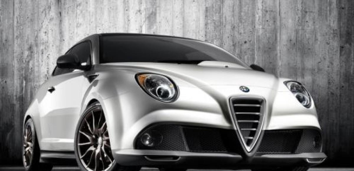 Alfa MiTo GTA Concept. Турист