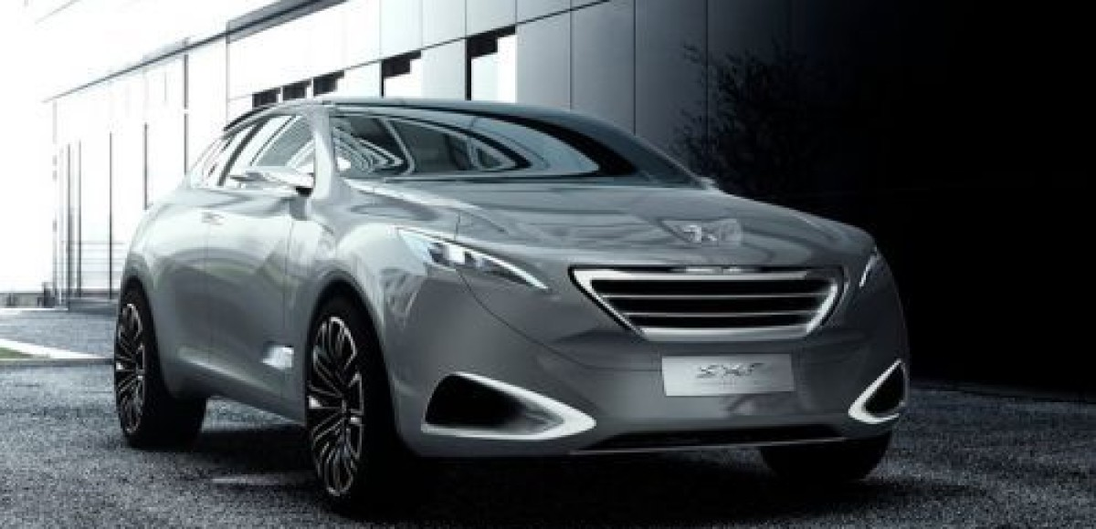 На автосалоне в Шанхае Peugeot представит концепт SXC