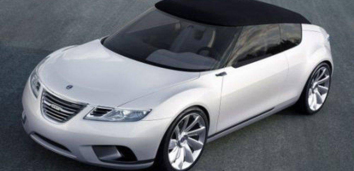 Saab представит в Париже открытое купе 9X Air