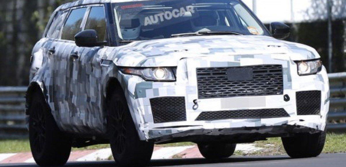 Jaguar начал дорожные тесты своего кроссовера