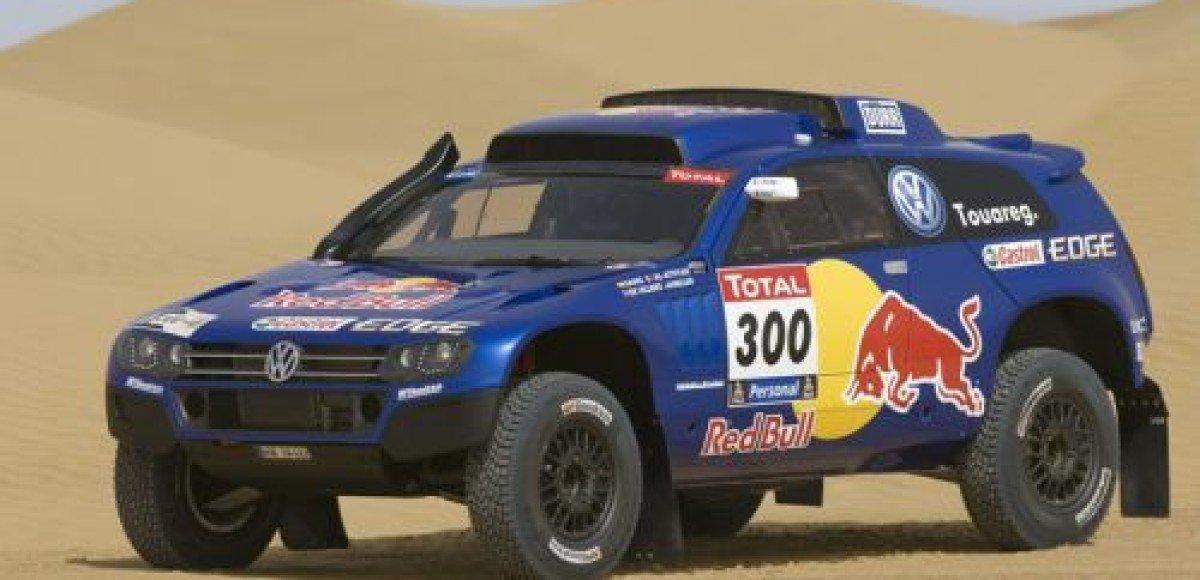 Volkswagen Race Touareg 3 для «Дакара-2011» дебютирует на ралли «Шелковый путь»
