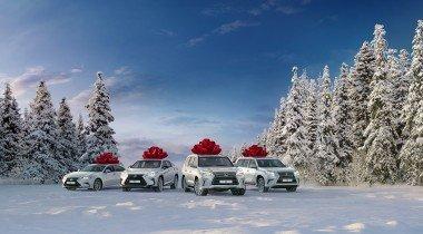 Lexus проводит предновогоднюю распродажу
