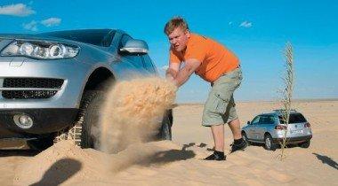 На VW Touareg в Тунисе. Маски Сахары