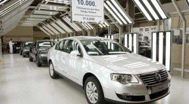 В Калуге собран десятитысячный автомобиль Volkswagen