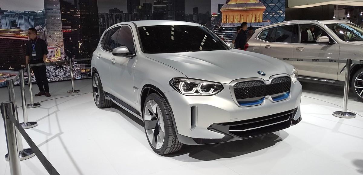BMW iX3 Concept. Без компромисов