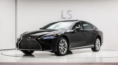Новое поколение Lexus LS привезли в Россию
