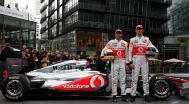 McLaren показал новый MP4-26 в Берлине