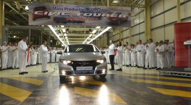 Универсал Honda Civic сошел с конвейера в Великобритании