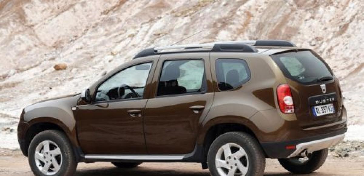 Переднеприводный Dacia Duster провалил «лосиный тест»