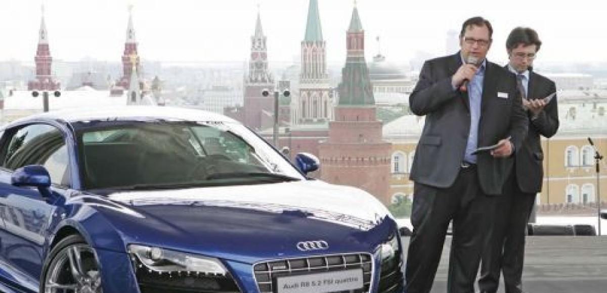 За новый Audi R8 V10 просят шесть миллионов рублей