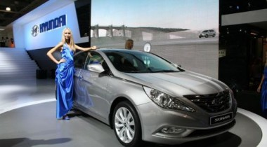 Российские дилеры начинают прием заказов на новую Hyundai Sonata