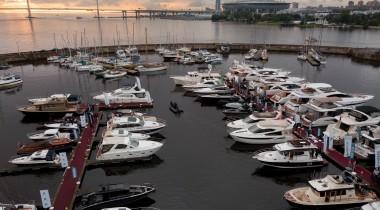 Выставка яхт и катеров : St Petersburg International Boat Show 2018
