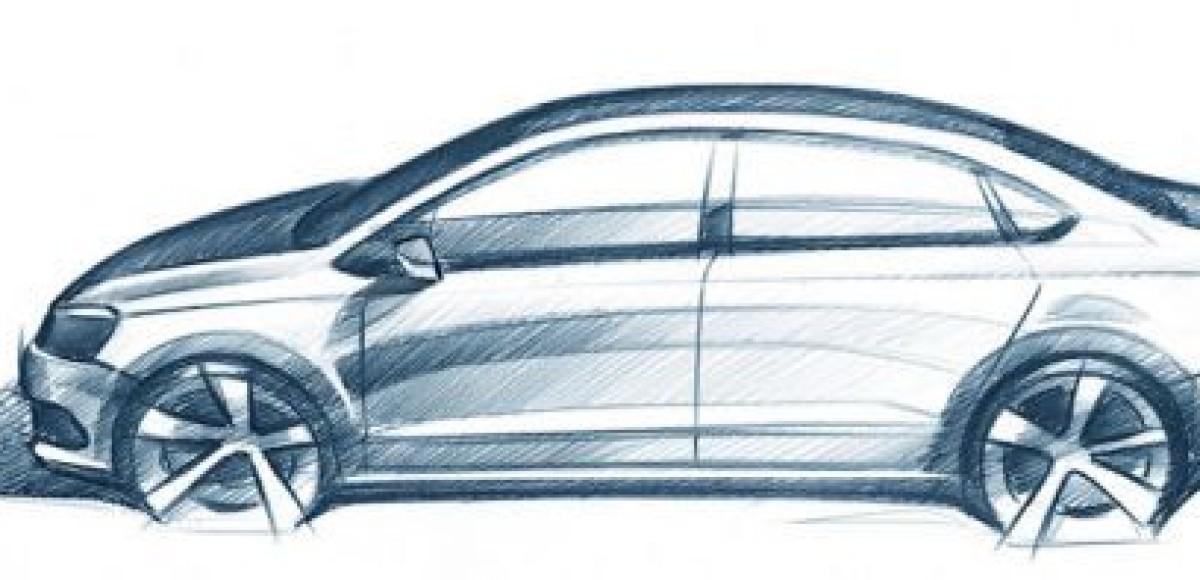 Volkswagen приоткрывает завесу тайны над бюджетным авто для России