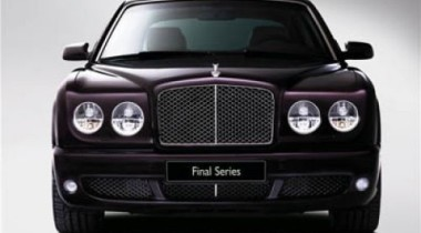 Bentley привезет во Францию седан Arnage Final Series