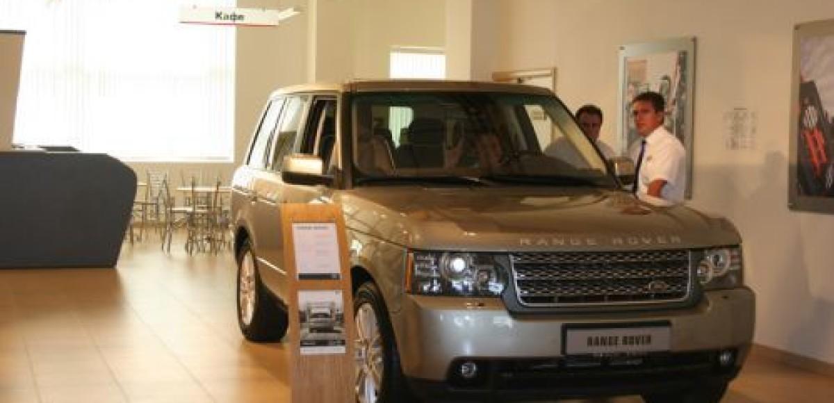 В Musa Motors состоялся «День Range Rover 2010»