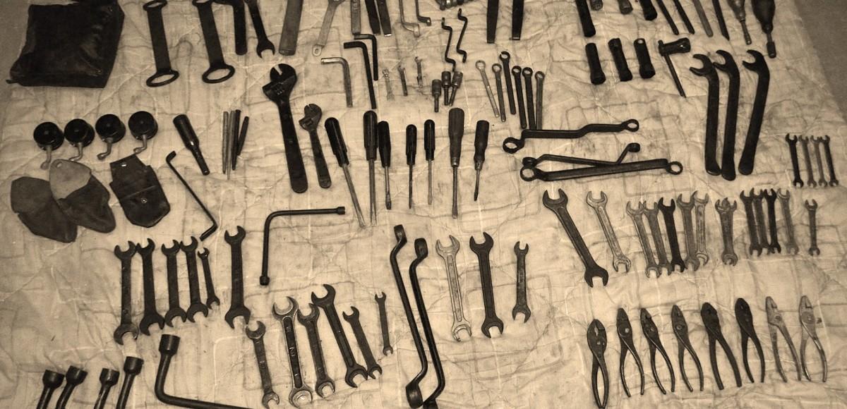Шоферский инструмент: штатные наборы в СССР и сейчас