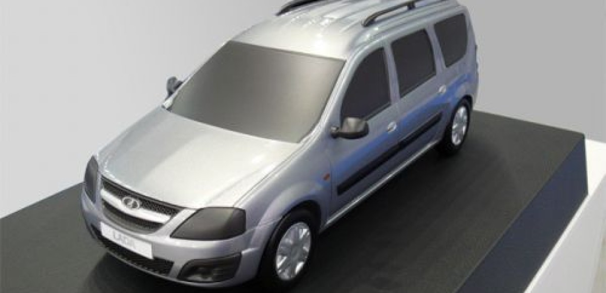 Lada Largus будет выпускаться в трех модификациях