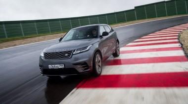 Land Rover провел динамический запуск Range Rover Velar