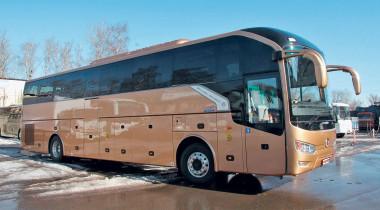 Золотое путешествие: туристический автобус Golden Dragon