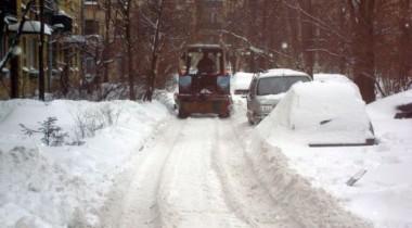 В Санкт-Петербурге ожидается холодная погода и обильные снегопады