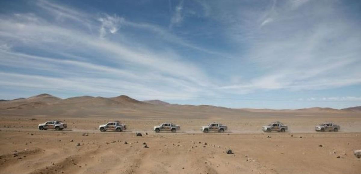 Испытания на прочность для Amarok, Crafter и Multivan успешно завершены