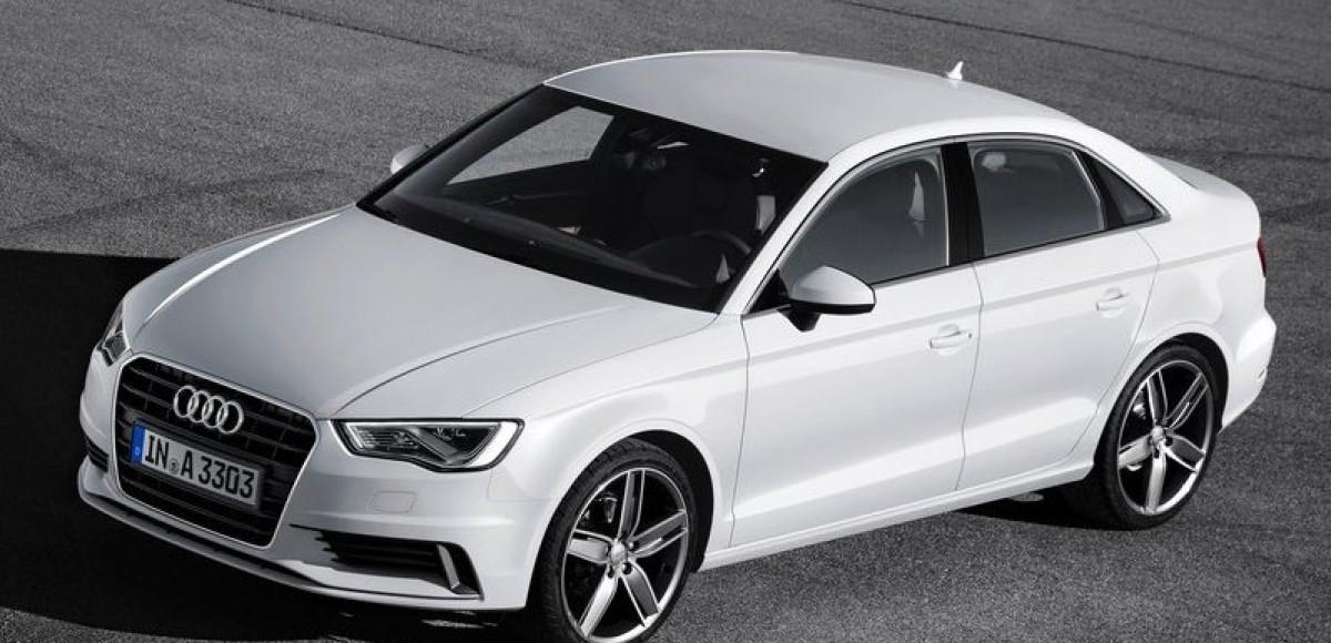 Audi A3 Sedan. Перед битвой