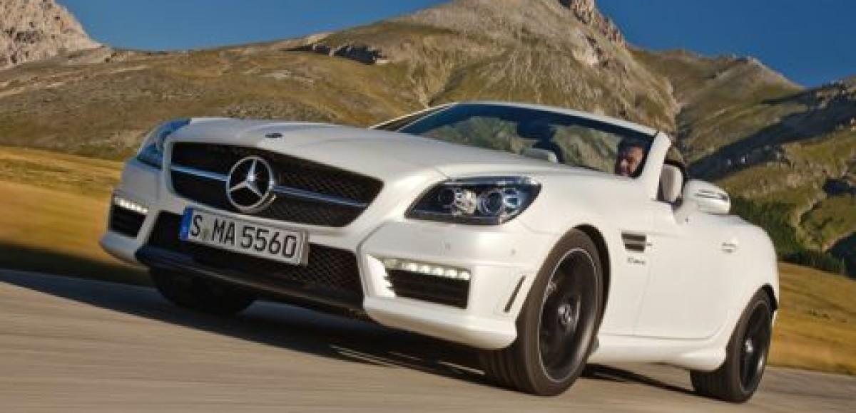 Mercedes-Benz SLK55 AMG претендует на звание самого мощного родстера