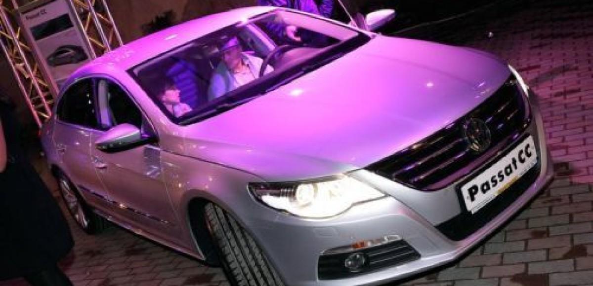«Авто Ганза» провела презентацию Volkswagen Passat CC