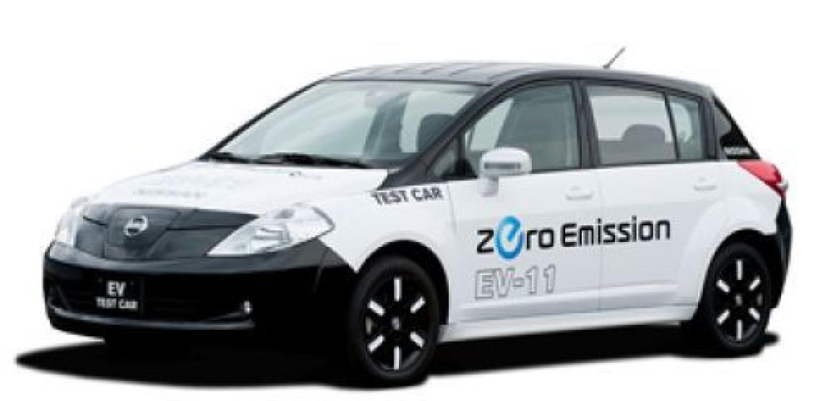 Nissan представил новую платформу автомобиля на электрической тяге