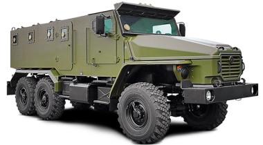 Защищенные автомобили «Урал»
